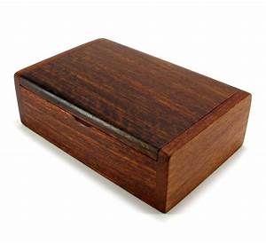 Wooden Box Handmade Trinket Storage Keepsake Jewelry Name