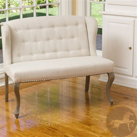 Overstock Loveseat by Christopher Home Fabric Loveseat