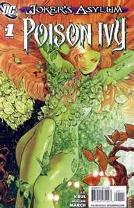 Poison Ivy Batman Comic Book