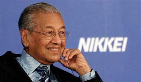 bid malaysia billions hinge on malaysia mahathir s bid to woo project
