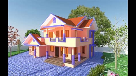 house planelevation  house designd view youtube