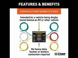 Curt Tail Light Converter