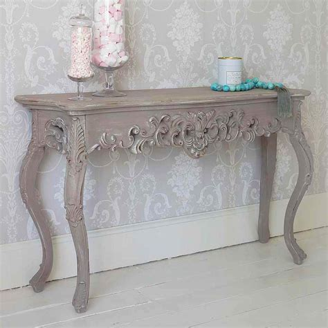 shabby chic console tables grace shabby chic console table french bedroom company