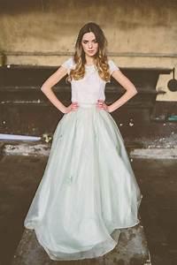 bridal fashion trend two piece wedding dress arabia With 2 piece wedding dresses
