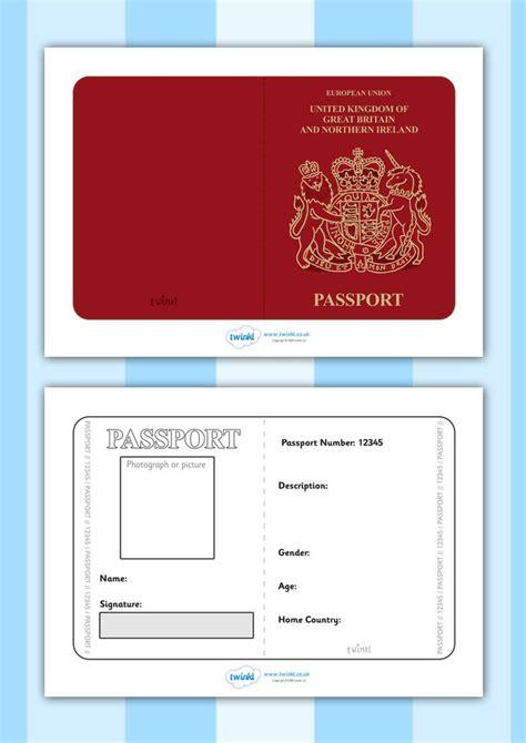passport template 1000 images about passport mixer luncheon ideas on