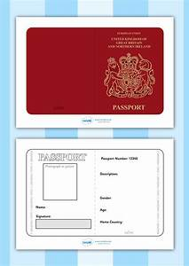 twinkl resources gtgt british passport template gtgt printable With fun passport template