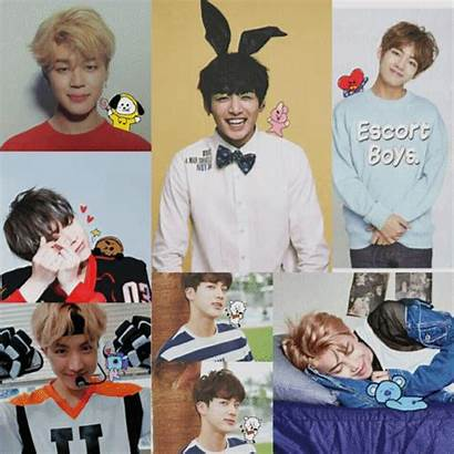 Bt21 Bts Characters Army Line Themselves Pointed