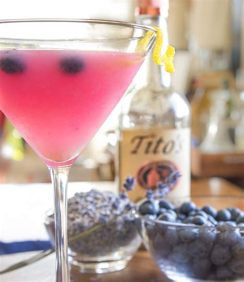 lavender cocktail fresh blueberry and lavender cocktail recipe what s cooking