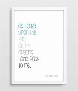 Print Nautical ... Nursery Canvas Quotes