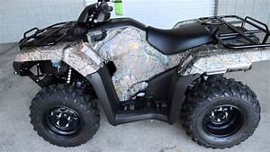 2014 Trx420fm Rancher Camo 4 Wheeler Sale    Honda Of