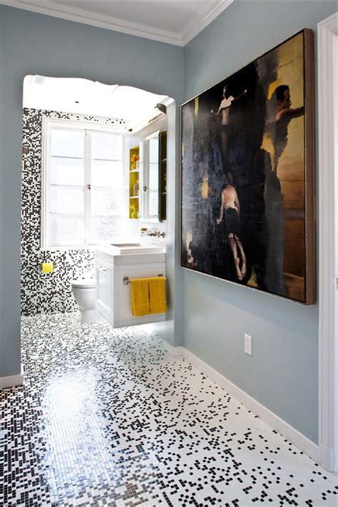 bathroom mosaic tile designs pixilated bathroom design made with custom mosaic tile