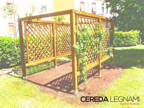 gazebo da terrazzo pergola da giardino e terrazzo in legno cereda legnami
