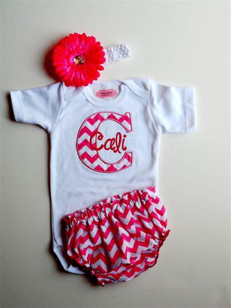 personalized baby girl clothes newborn girl   sassylocks