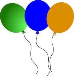Circus Balloons Clip Art
