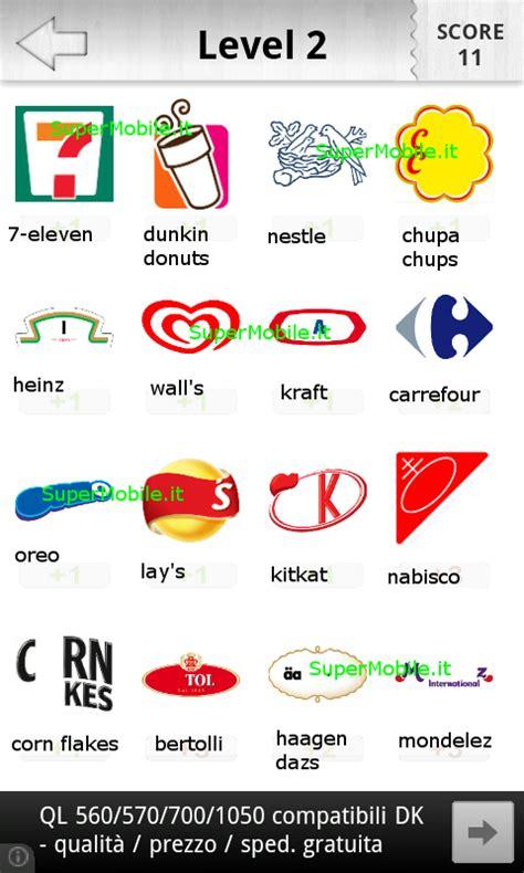 soluzioni logo quiz food soluzione completa del quiz