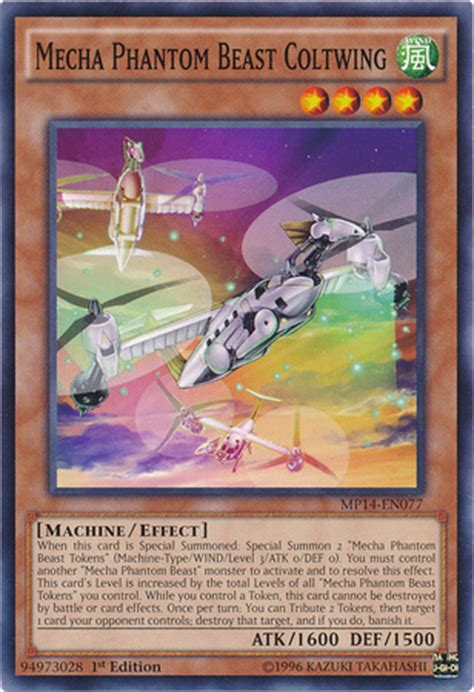 Mecha Phantom Beast Deck Link Format by Mecha Phantom Beast Coltwing Yu Gi Oh Fandom Powered
