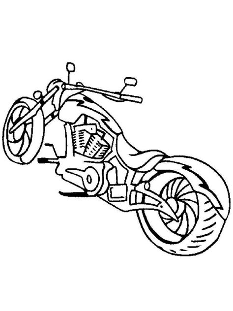 motorcycles coloring pages   print motorcycles coloring pages