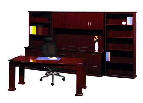 executive desk and credenza new emerald bowfront executive office desk table set with