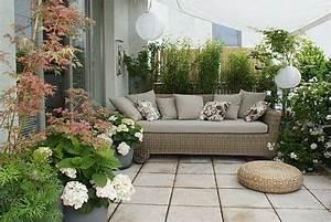 Pflanzen Für Dachterrasse : dachterrasse unter m sonnensegel pflanzen als sichtschutz ~ Michelbontemps.com Haus und Dekorationen