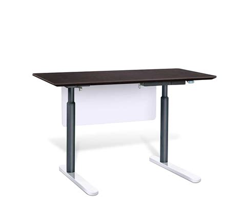 motorized stand up desk electric stand up desk by unique furniture 7300 esp desks