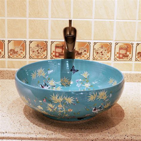 sink with bowl on bowl bathroom sinks home decor page 253 maestro round