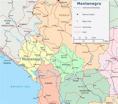 No help map or hints in the answers available. Montenegro Map