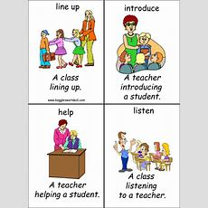 Classroom English Flashcards