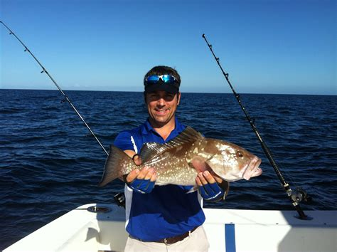 boated florida november grouper buddy naples uploaded offshore thirty nick miles fishing