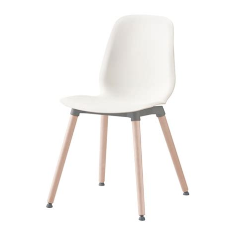 Ikea Vilmar Chair Legs by Leifarne Chair White Ernfrid Birch Flexibility