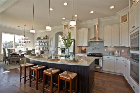 designer homes  celebration homes rustic kitchen
