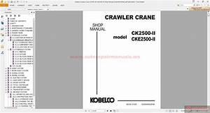 Kobelco Crawler Crane Ck2500