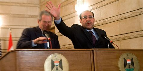 iraqi journalist hurls shoes  bush  denounces