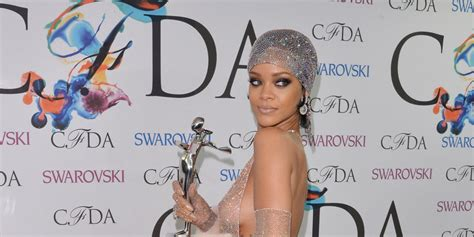 Let S Talk About Rihanna S Glittering Almost Naked Dress
