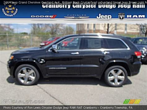 light brown jeep brilliant black crystal pearl 2014 jeep grand cherokee