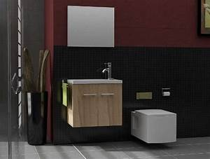 Gäste Wc Möbel : badm bel mit spiegel badezimmer m bel minimo 500 ~ Michelbontemps.com Haus und Dekorationen