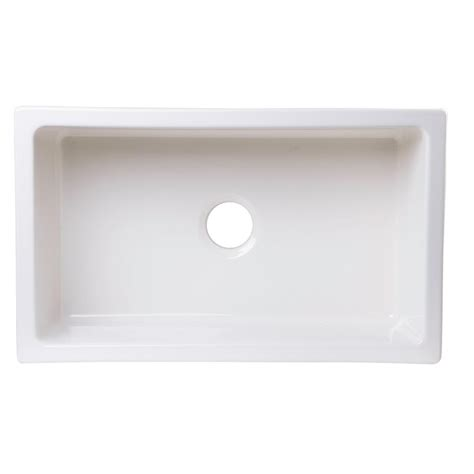fireclay undermount kitchen sink alfi brand undermount fireclay 30 in single basin kitchen