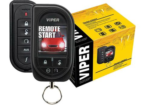 New Viper 5906 5906v 2-way Car Alarm Remote Start Keyless