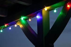 Bunte Led Lichterkette : led lichterkette 10m bunte leds 50er partylichterkette beleuchtung sommer ~ Eleganceandgraceweddings.com Haus und Dekorationen
