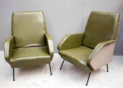 Italian Armchairs, 1960s, Set Of 2 For Sale At Pamono