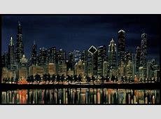 Chicago Skyline Wallpaper WallpaperSafari