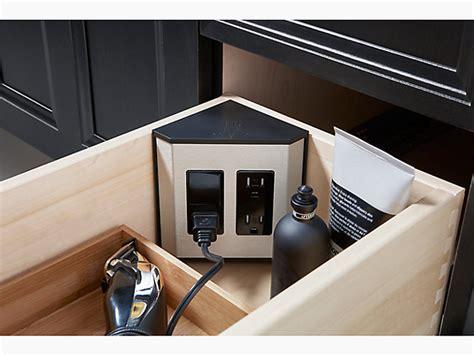 drawer electrical outlets  kohler