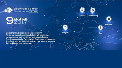 tallinn will host the large conference devoted to blockchain and cryptocurrencies coinalert