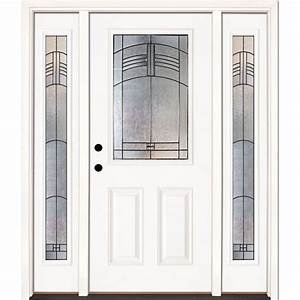 Feather River Doors 675 In X 81625 In Rochester Patina
