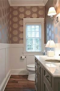 Tapete Für Badezimmer : trendige tapeten ideen f r jeden raum ~ Watch28wear.com Haus und Dekorationen