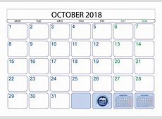 Top 15 Calendar 2018 Templates Printable 2018 Calendar