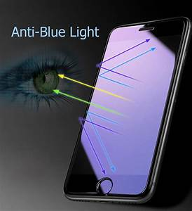 Blue Light Screen Protector Iphone 8 Anti Blue Light Tempered Glass For Iphone 8 7 6 6s Plus 5