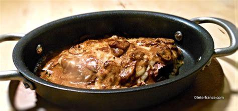 cuisiner des escalopes de veau recette avec des oeufs