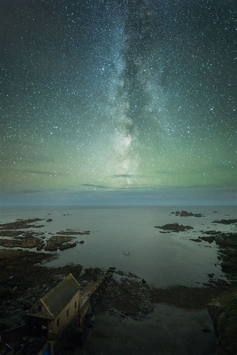 Milky Way Over Lizard Point Cornwall