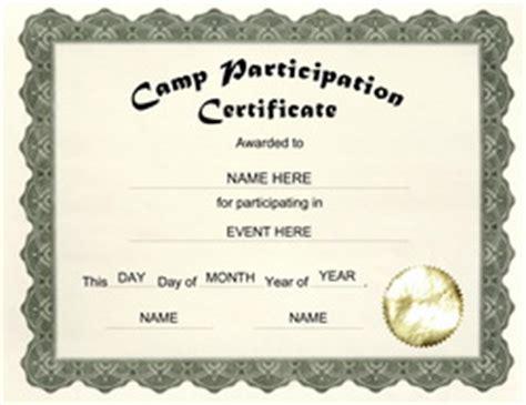templates  middle school certificate templates