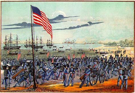 landing at vera march 9 1847